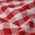 Red/White Gingham Napkin Pack of 12