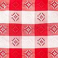 Red and White Check Tablecloths