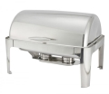 Four Gallon Stainless Steel Roll Top Chafers