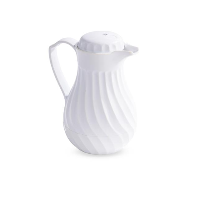 45 ounce White Insulated Beverage Server