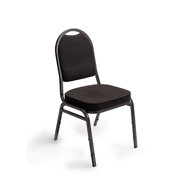 Black Stacking Banquet Chair