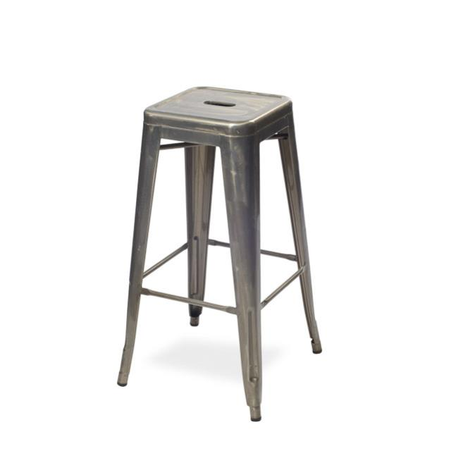 29 inch Gunmetal Bar Stool without Back