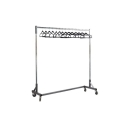 5 foot Coatrack with Wheels