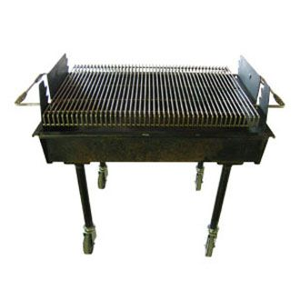 2 x 5 foot Charcoal Grill