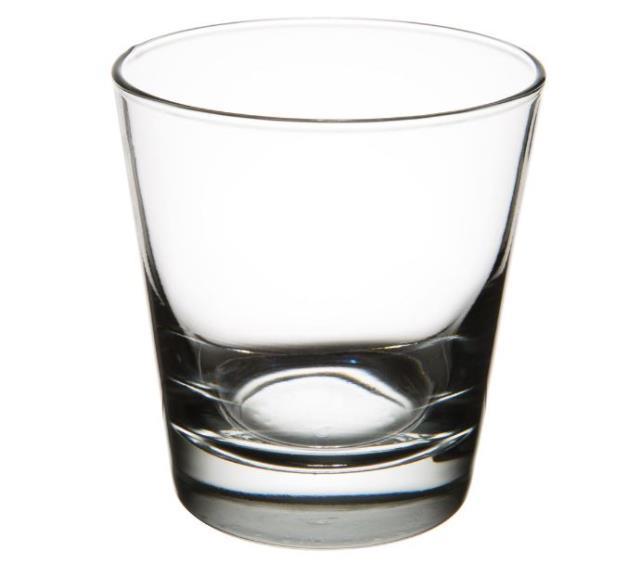 6 ounce Tasting Glass Rack of 25