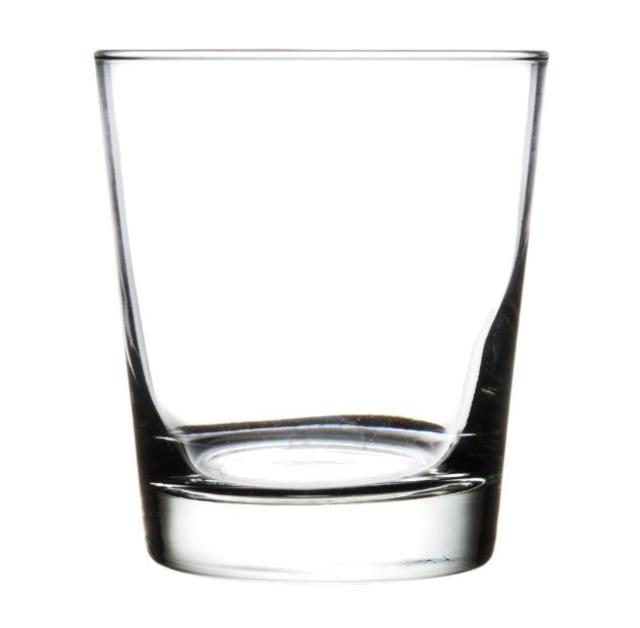 13 ounce Old Fashioned Rocks Glass Rack of 25