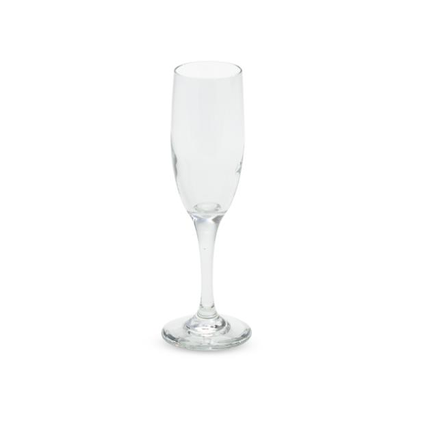 6 ounce Champagne Flute Glass EL Rack of 36