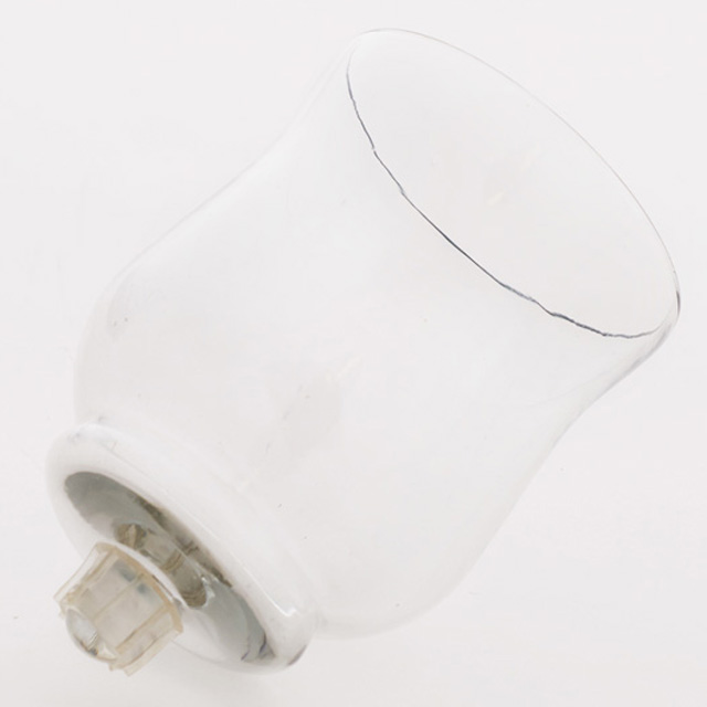 Large Clear Glass Votive Cup