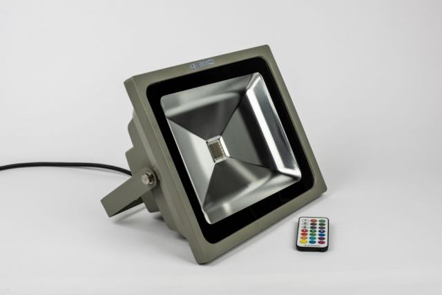 Lighted Tent Pole with LED Fixtures