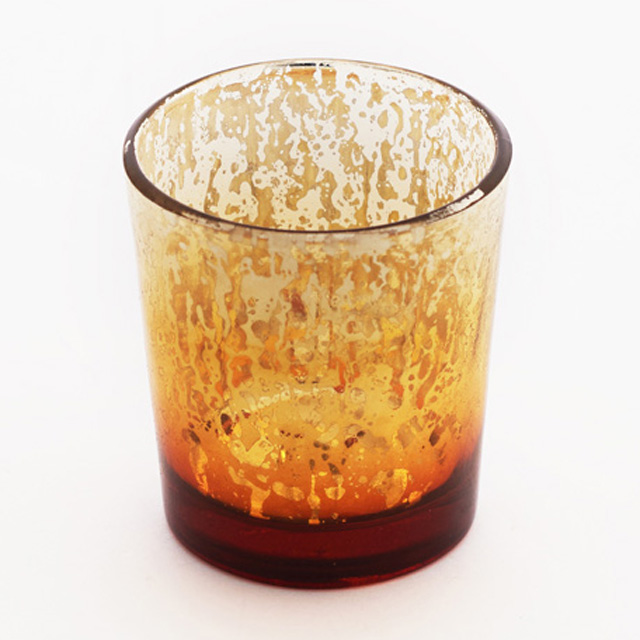 Amber Mercury Votive Cup