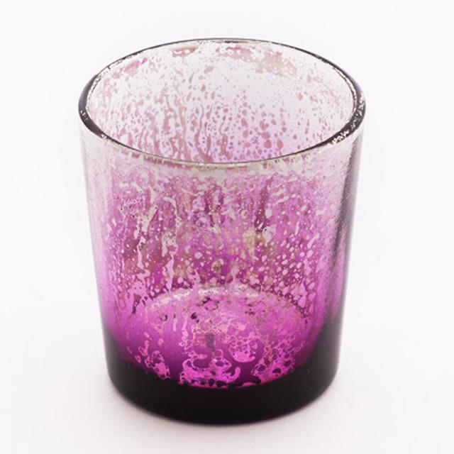 Purple Mercury Votive Cup