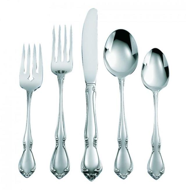 Chateau Stainless Steel Flatware Pattern