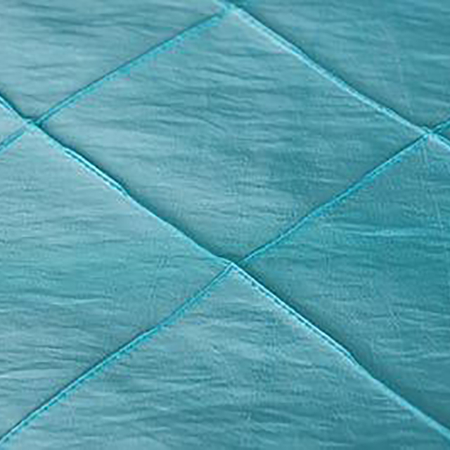 Turquoise Pintuck Tablecloths