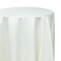 Ivory Satin Tablecloths