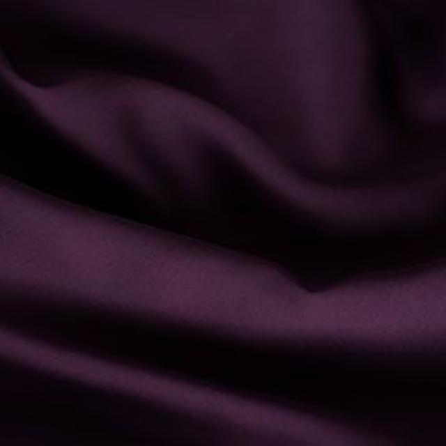 Eggplant Satin Tablecloths