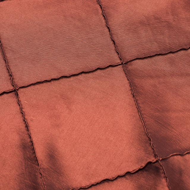 Rust Pintuck Tablecloths