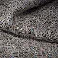 Silver Sparkle Lace Tablecloths