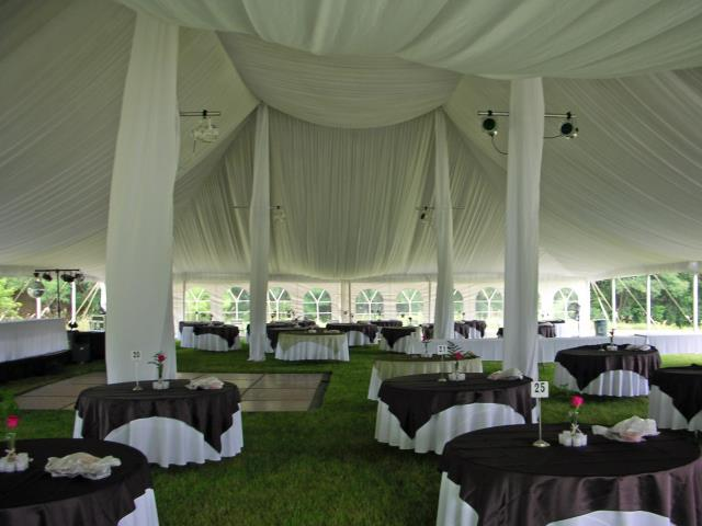 60 foot Wide Pole Tent Liner Kits