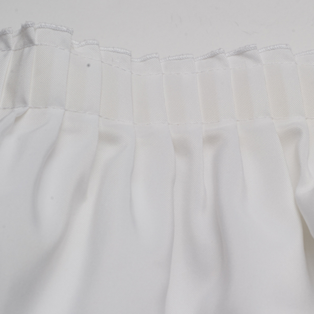 White Banquet Table Skirting