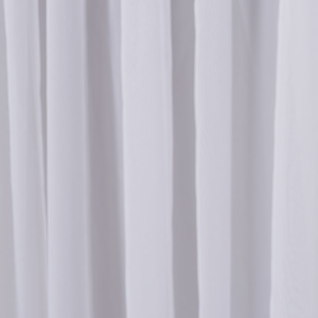 White Sheer Drape
