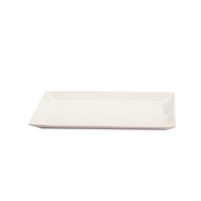 White Rectangle Serving Platters