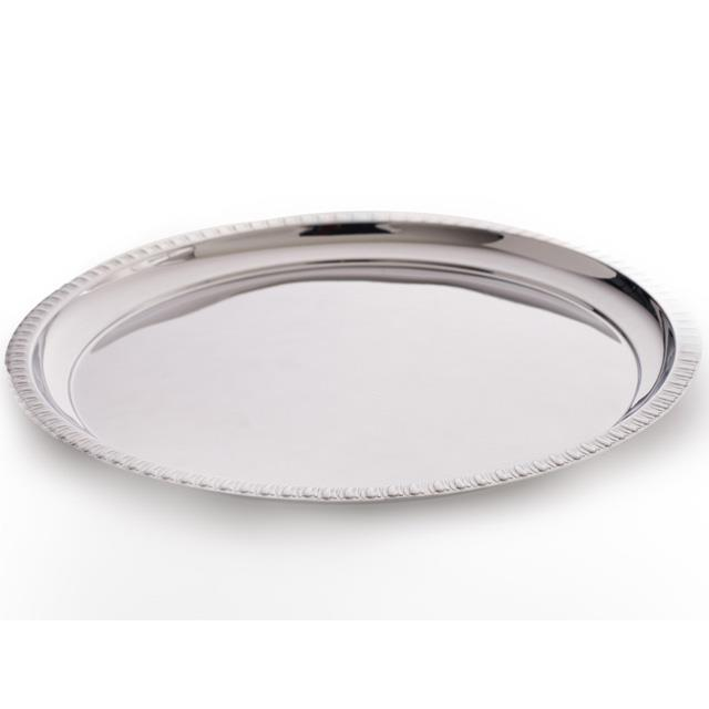Round Stainless Steel Trays