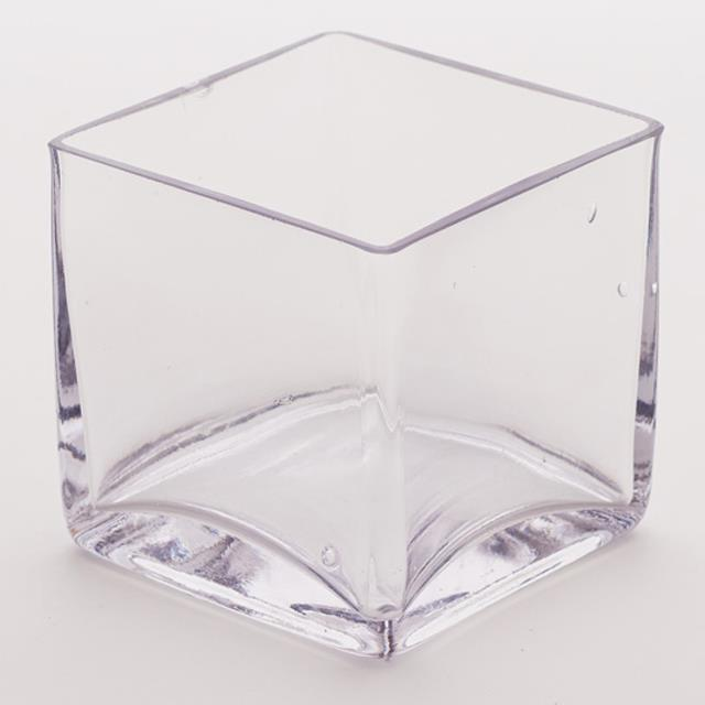 Square Glass Vases
