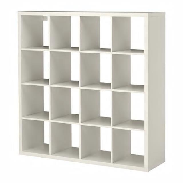 White Back Bar 16 Shelf