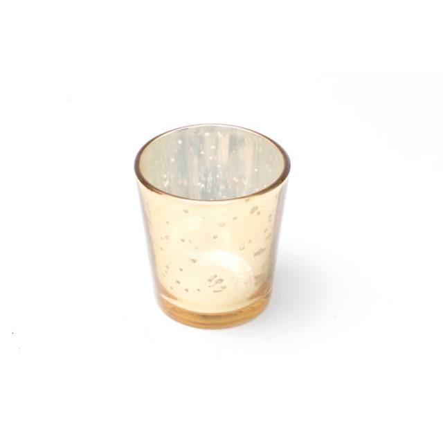 Gold Mercury Votive Cup