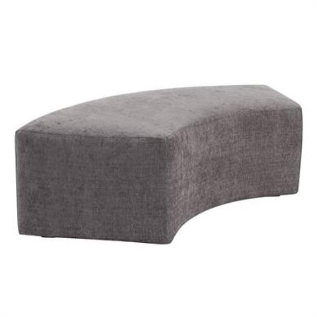 Gray Radius Bench
