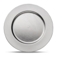 13 inch Round Silver Charger
