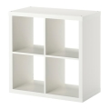 White Back Bar 4 Shelf