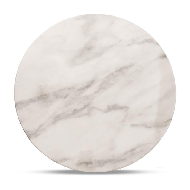13 inch Round Marble Charger