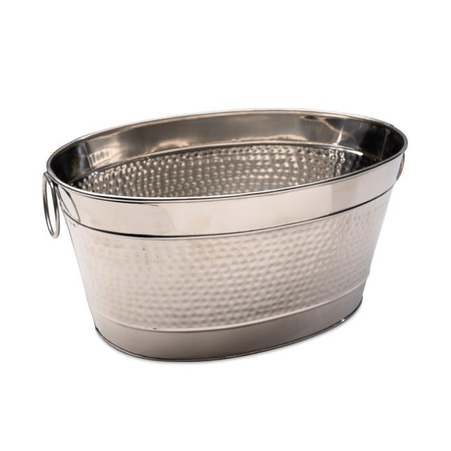 Stainless Oval Tub