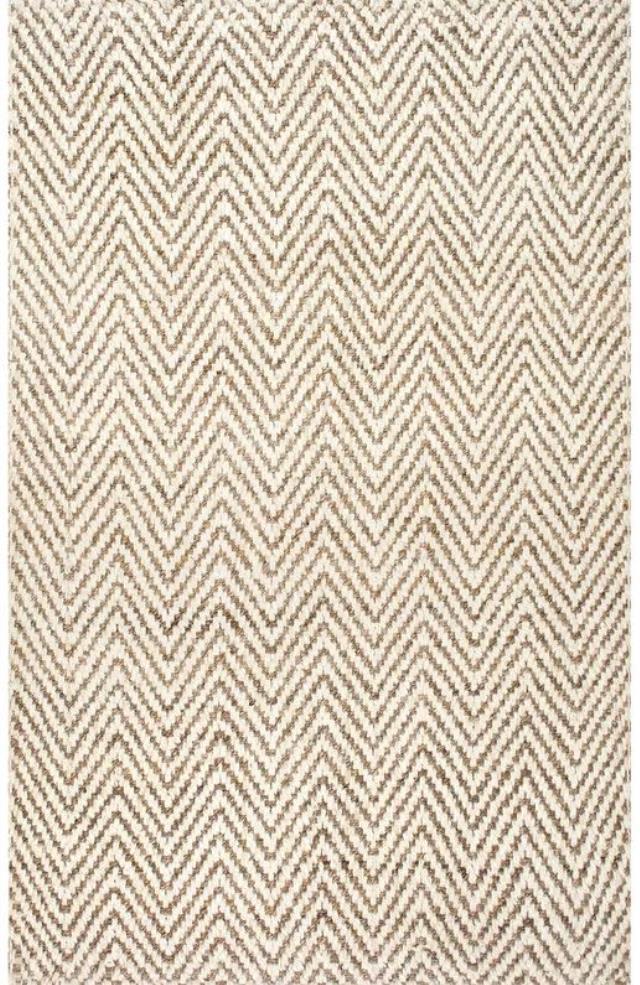 8 x 11 Tan Woven Norcross Rug