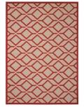 8 x 11 Red Taschen Rug