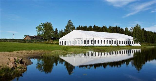 20 Meter Wide Clearspan Tent System