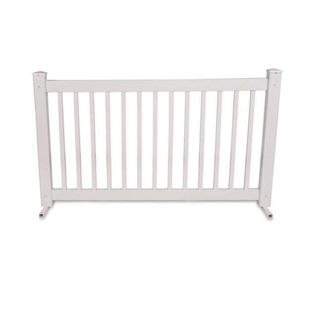 6 foot White Event Fence