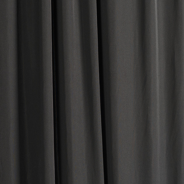 4.5 x 20 foot Black Spandex Drape