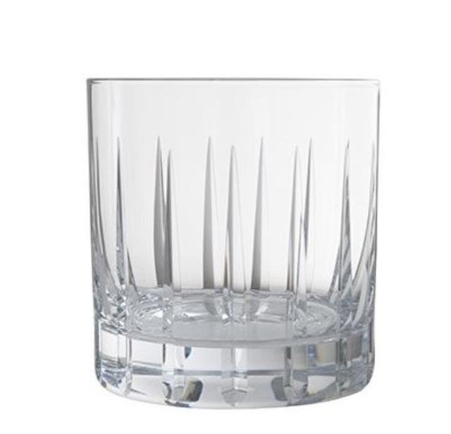 12.5 ounce Etched Rocks Glass Rack of 25