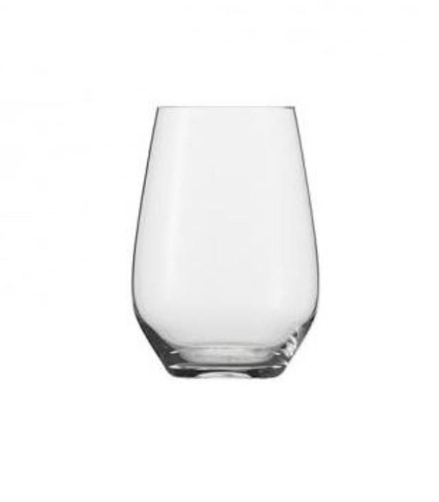 19 ounce Stemless Forte Wine Glass Rack of 16