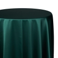 Hunter Green Satin Tablecloths