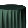Hunter Green Velvet Tablecloths