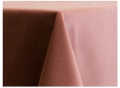 Blush Velvet Tablecloths