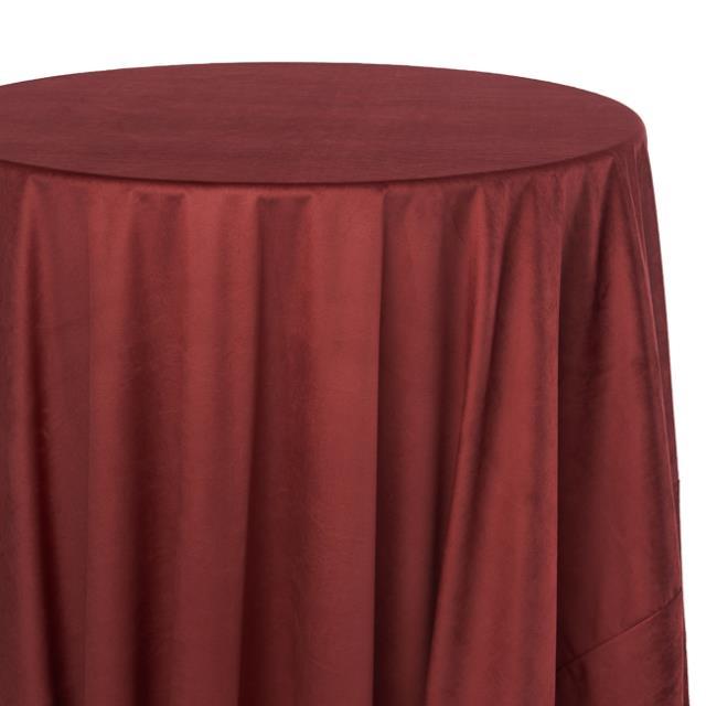 Merlot Velvet Tablecloths