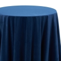 Marine Blue Velvet Tablecloths