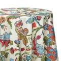 Muticolored Print Tablecloths