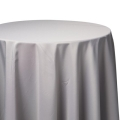 Silver Poly Tablecloths