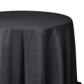 Black Crinkle Tablecloths