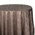 Charcoal Crushed Velvet Tablecloths